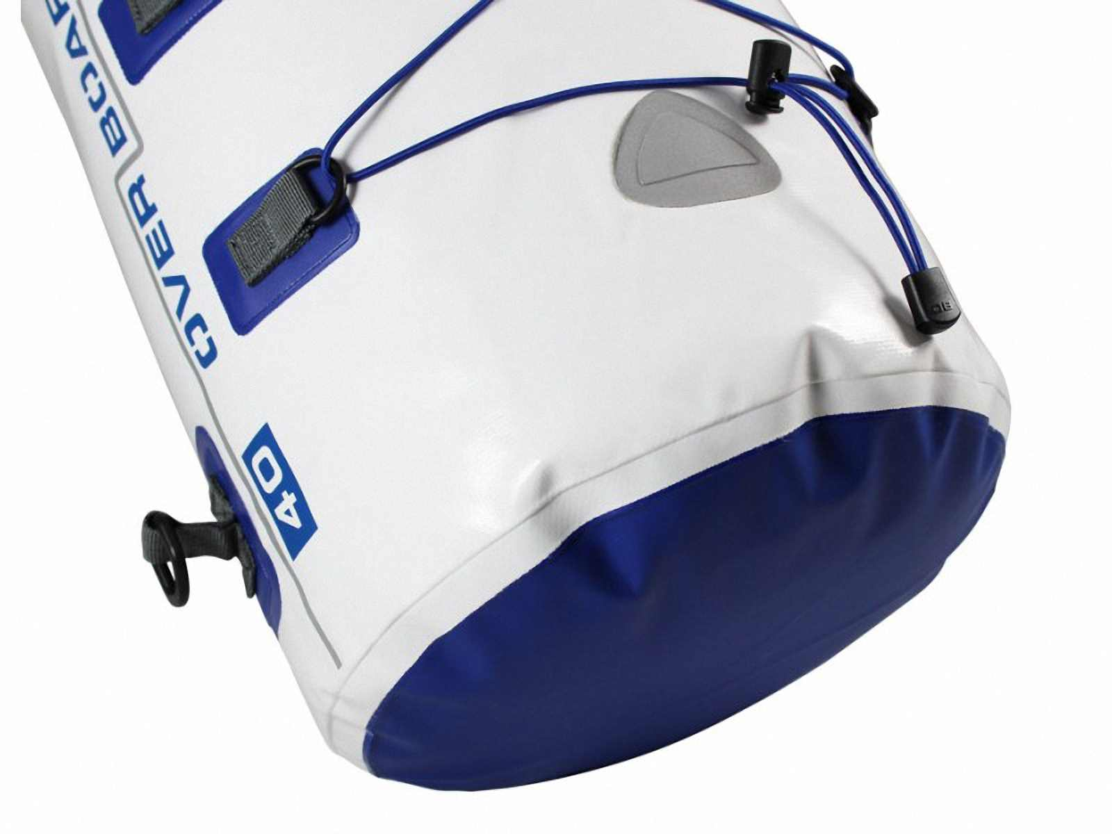 Водонепроницаемый рюкзак OverBoard OB1017WHT - Waterproof Boat Master Dry Tube - 40 Litres. Фото 3