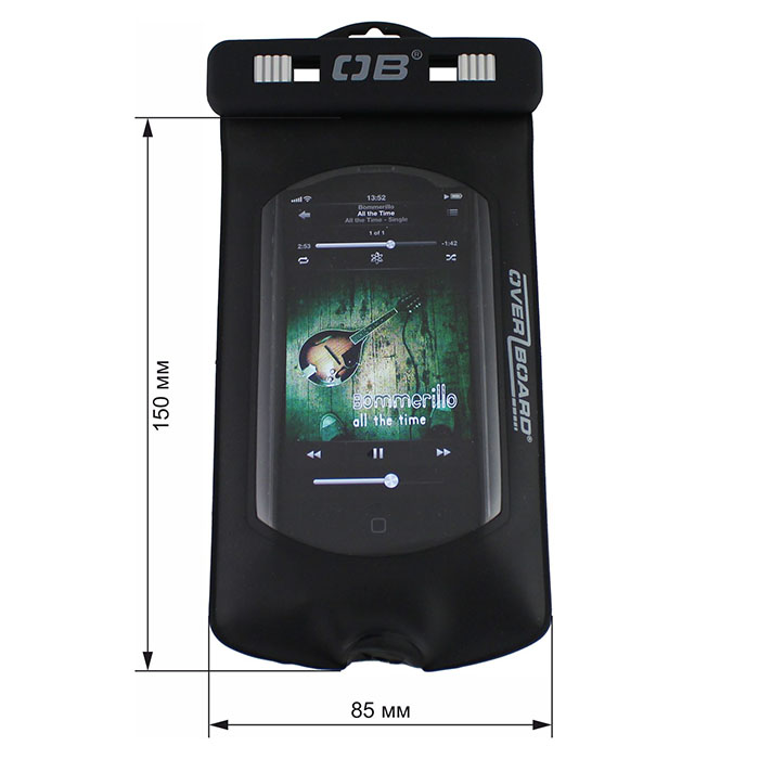 Водонепроницаемый чехол OverBoard OB1027BLK - Pro-Sports Waterproof iPоd / MP3 Case. Фото 1