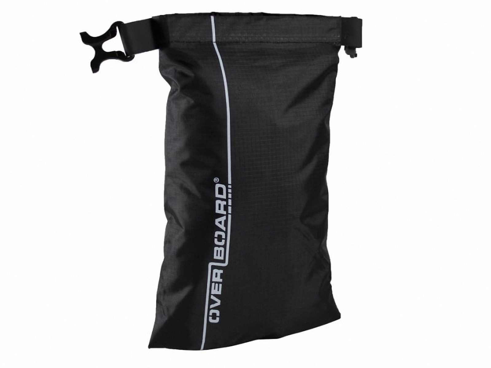 Водонепроницаемый гермомешок OverBoard OB1031BLK - Waterproof Dry Pouch - 1L (Black) Фото 2