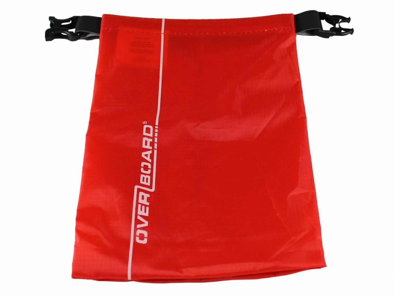 Водонепроницаемый гермомешок OverBoard OB1031R - Waterproof Dry Pouch - 1L (Red) Фото 2
