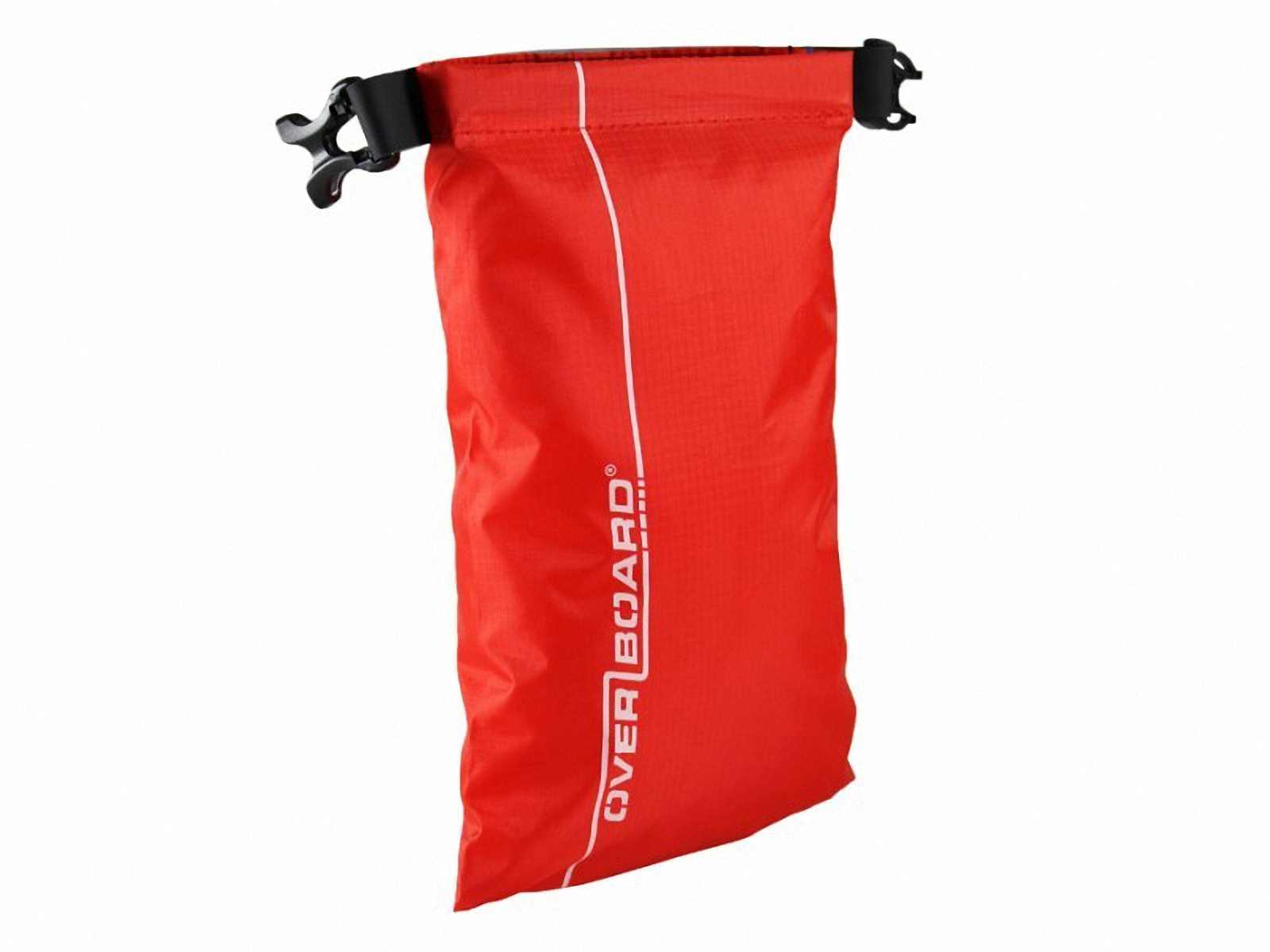 Водонепроницаемый гермомешок OverBoard OB1031R - Waterproof Dry Pouch - 1L (Red) Фото 3