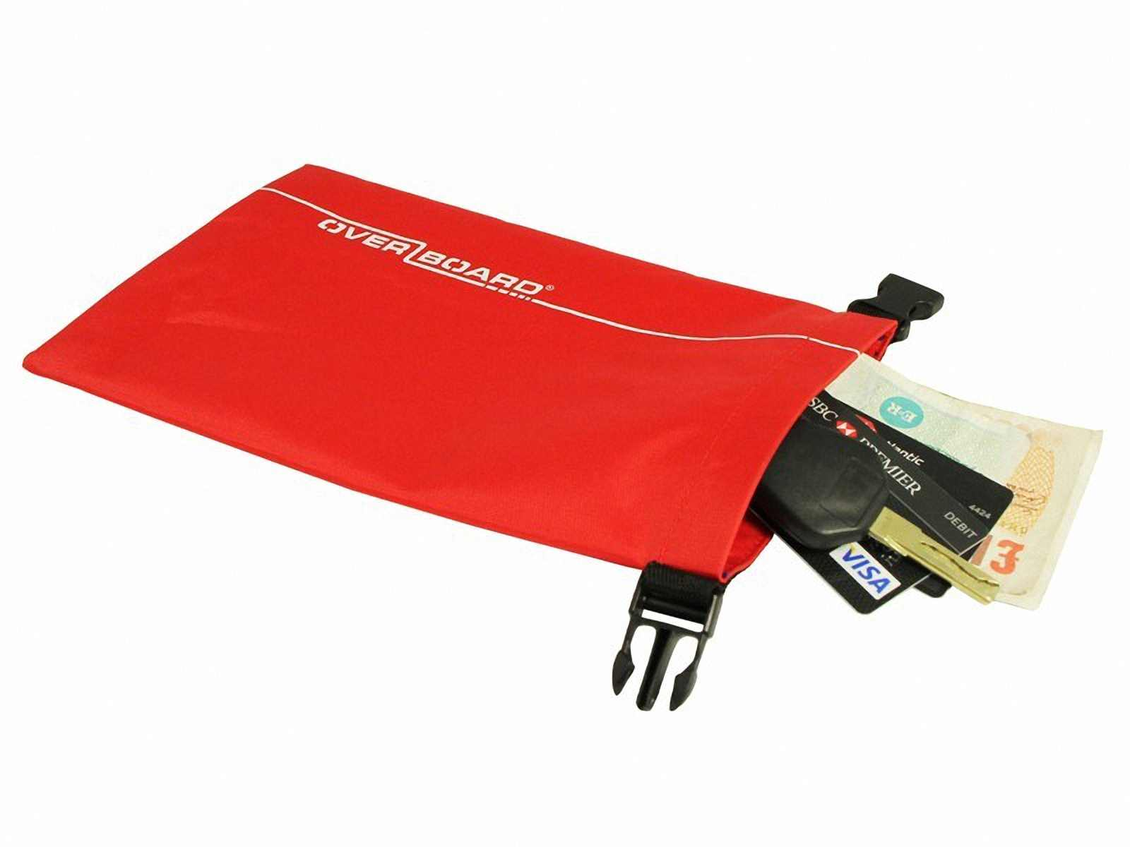 Водонепроницаемый гермомешок OverBoard OB1031R - Waterproof Dry Pouch - 1L (Red) Фото 4