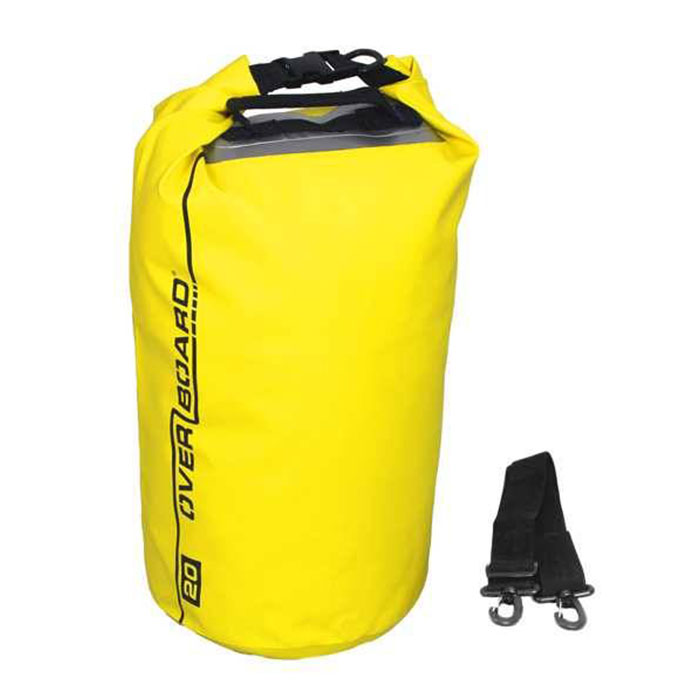 Водонепроницаемая сумка OverBoard OB1057Y - Waterproof Dry Tube Bag with Window - 20L. Фото 4