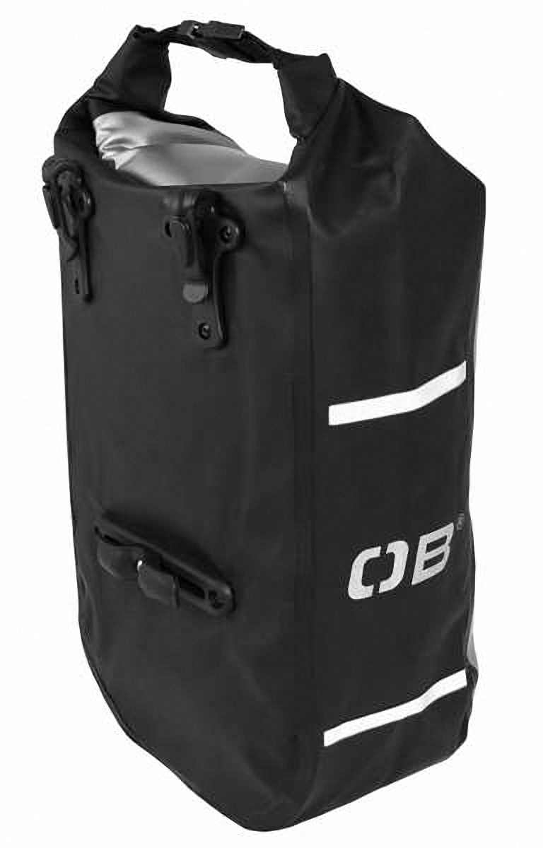 Водонепроницаемая сумка OverBoard OB1076BLK - Waterproof Front Wheel Bike Pannier - 12L. Фото 1