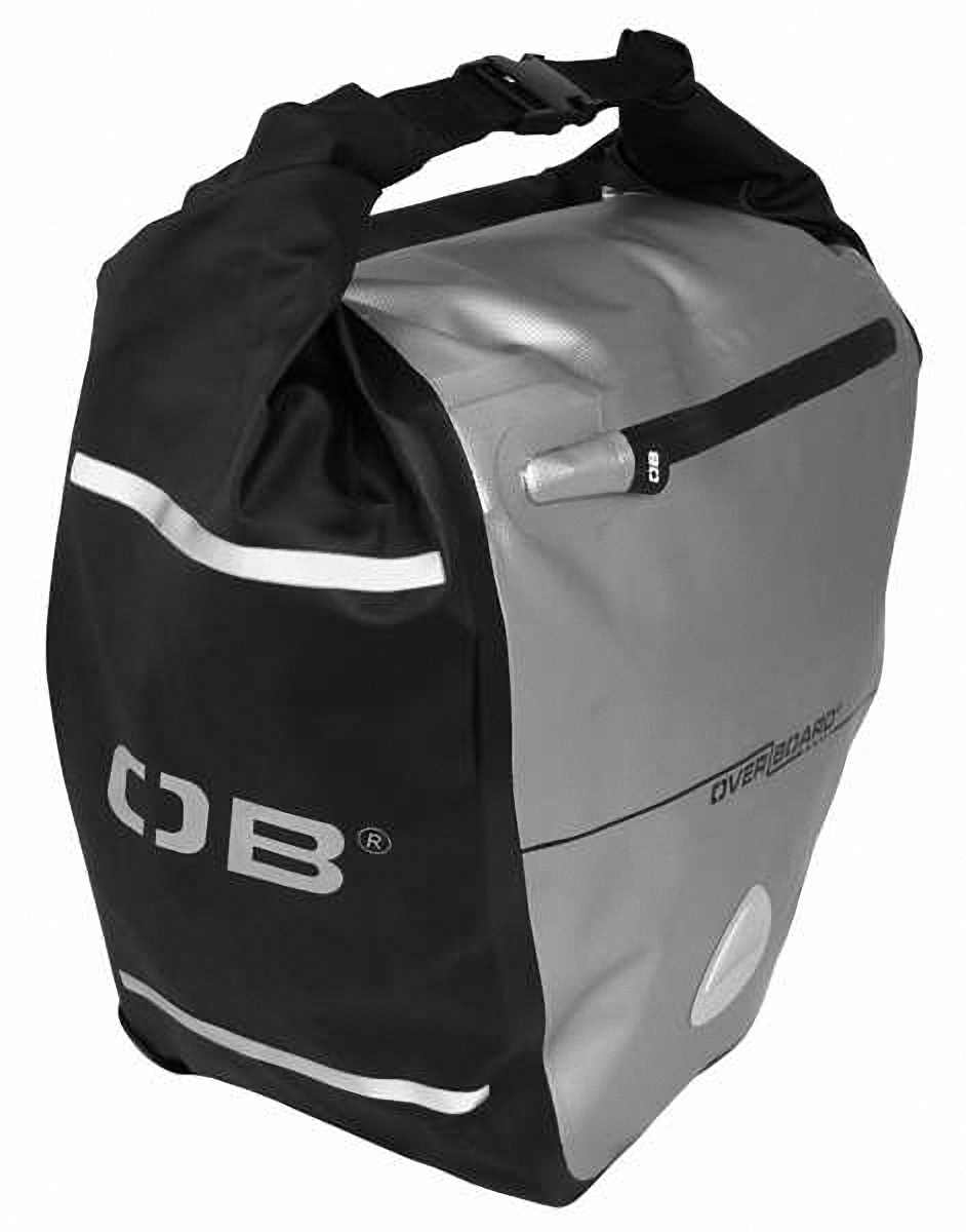 Водонепроницаемая сумка OverBoard OB1077BLK - Waterproof Back Wheel Bike Pannier - 16L. Фото 1