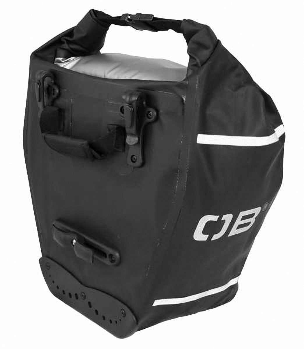 Водонепроницаемая сумка OverBoard OB1077BLK - Waterproof Back Wheel Bike Pannier - 16L. Фото 2