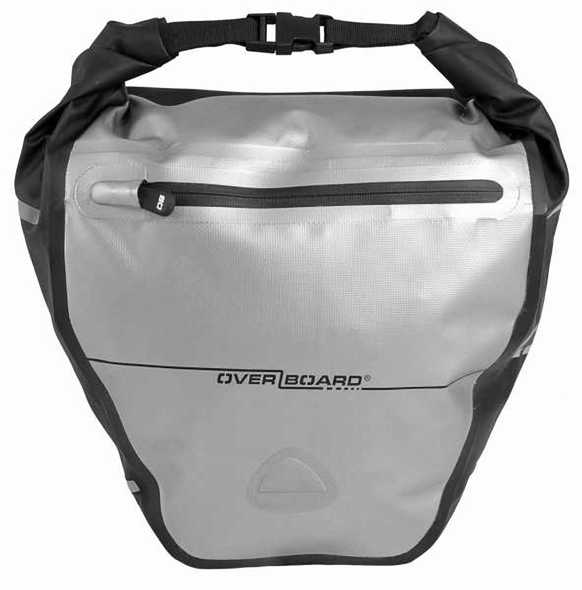 Водонепроницаемая сумка OverBoard OB1077BLK - Waterproof Back Wheel Bike Pannier - 16L. Фото 4