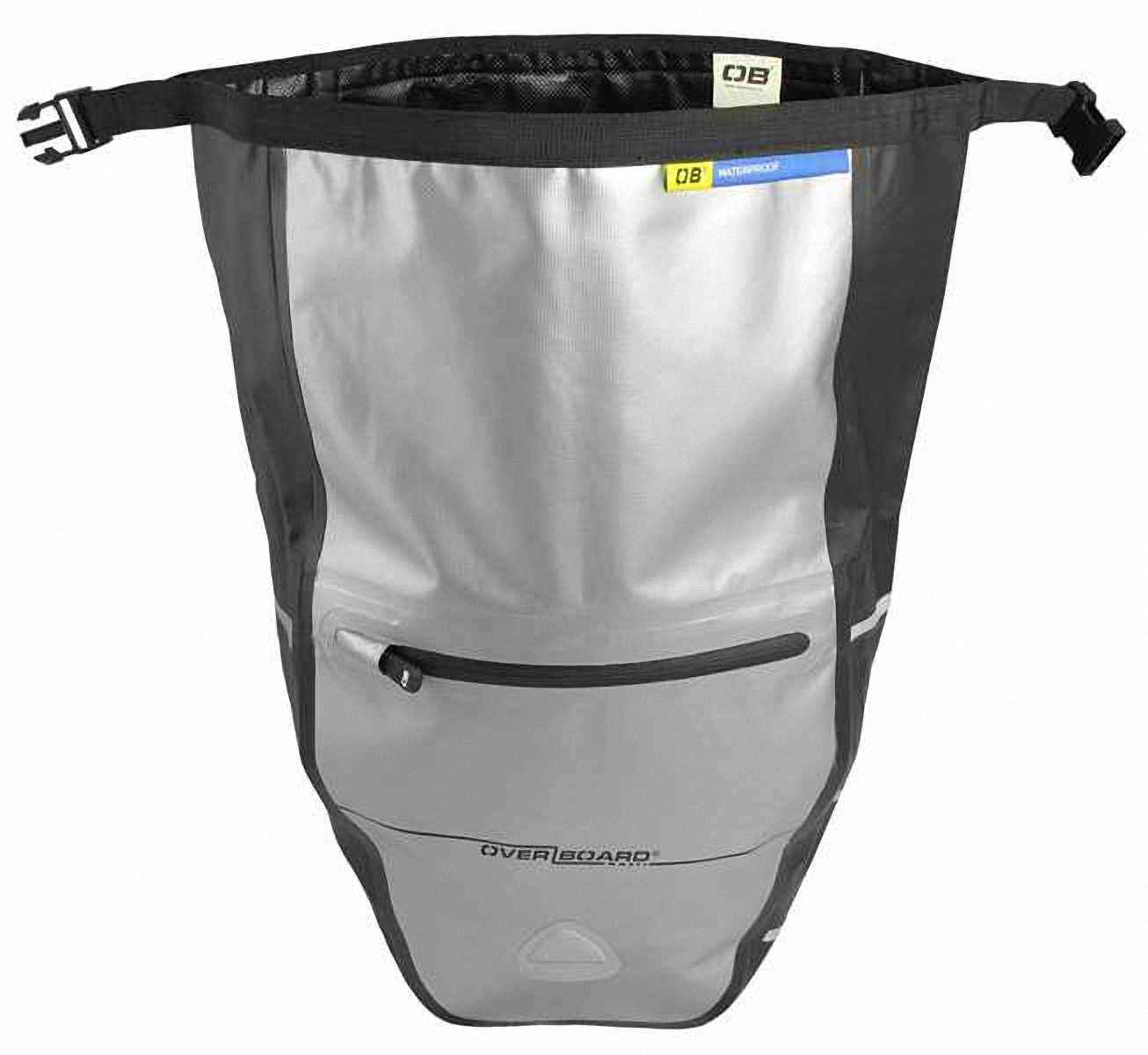 Водонепроницаемая сумка OverBoard OB1077BLK - Waterproof Back Wheel Bike Pannier - 16L. Фото 5
