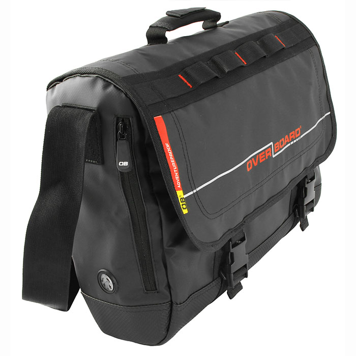 Водонепроницаемая сумка OverBoard OB1079BLK - Waterproof Adventure Messenger Bag. Фото 2