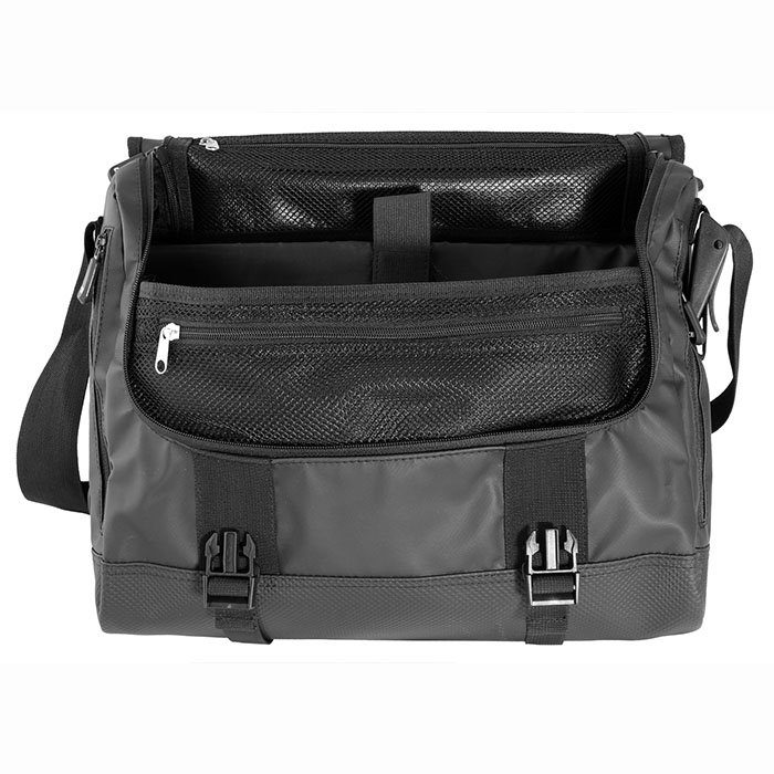 Водонепроницаемая сумка OverBoard OB1079BLK - Waterproof Adventure Messenger Bag (Black) Фото 5