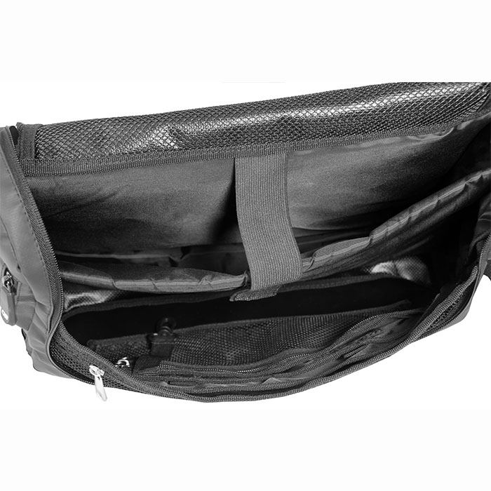 Водонепроницаемая сумка OverBoard OB1079BLK - Waterproof Adventure Messenger Bag (Black) Фото 6