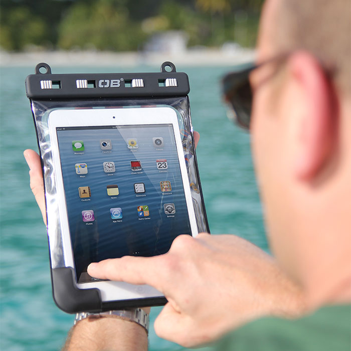 Водонепроницаемый чехол OverBoard OB1083BLK - Waterproof iPad Mini Case with shoulder strap. Фото 8
