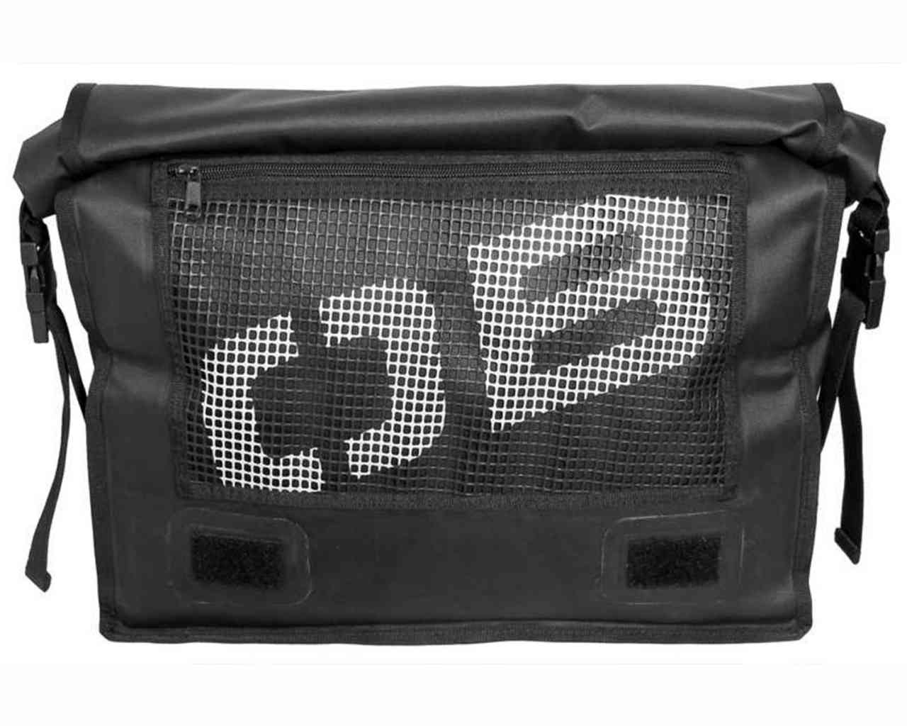 Водонепроницаемая сумка OverBoard OB1092BLK - Waterproof Messenger Bag (Black) Фото 2