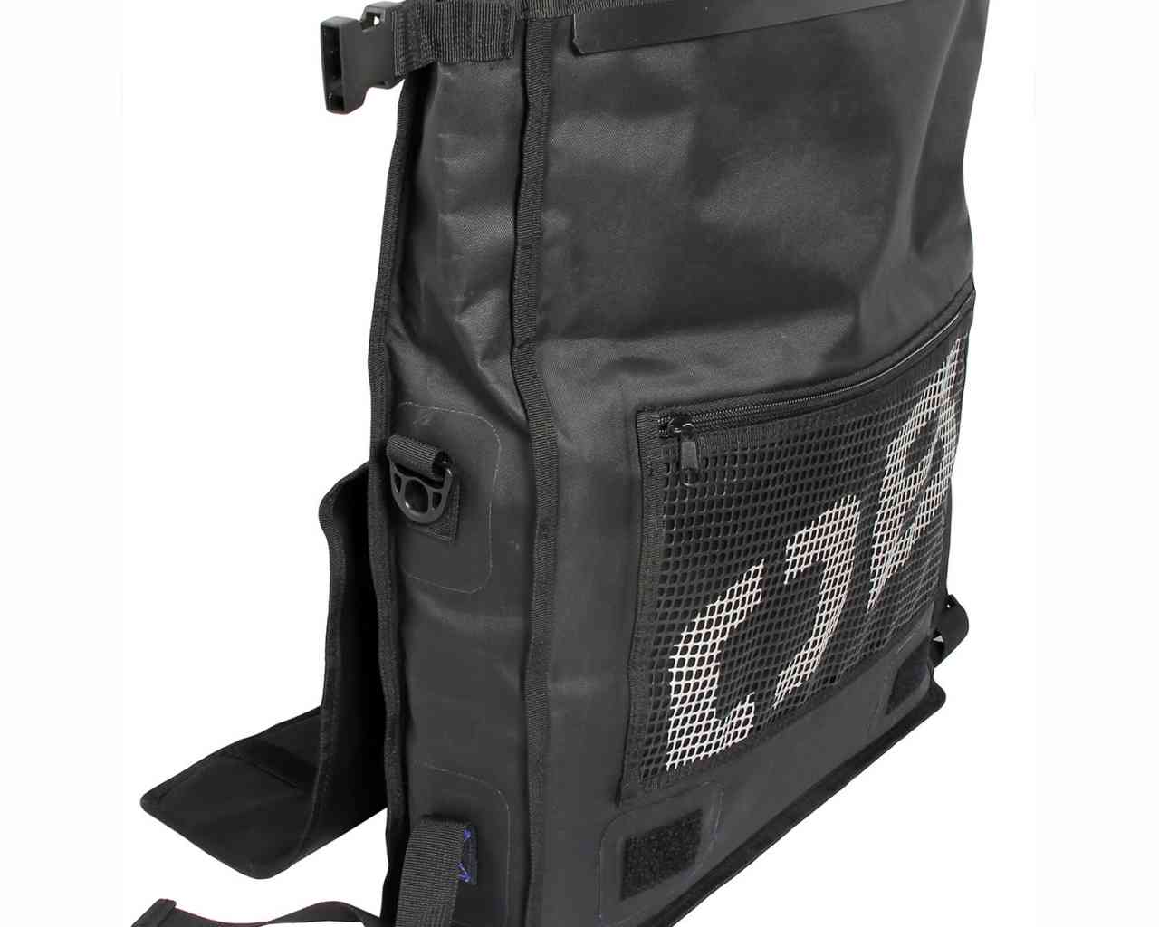 Водонепроницаемая сумка OverBoard OB1092BLK - Waterproof Messenger Bag (Black) Фото 4