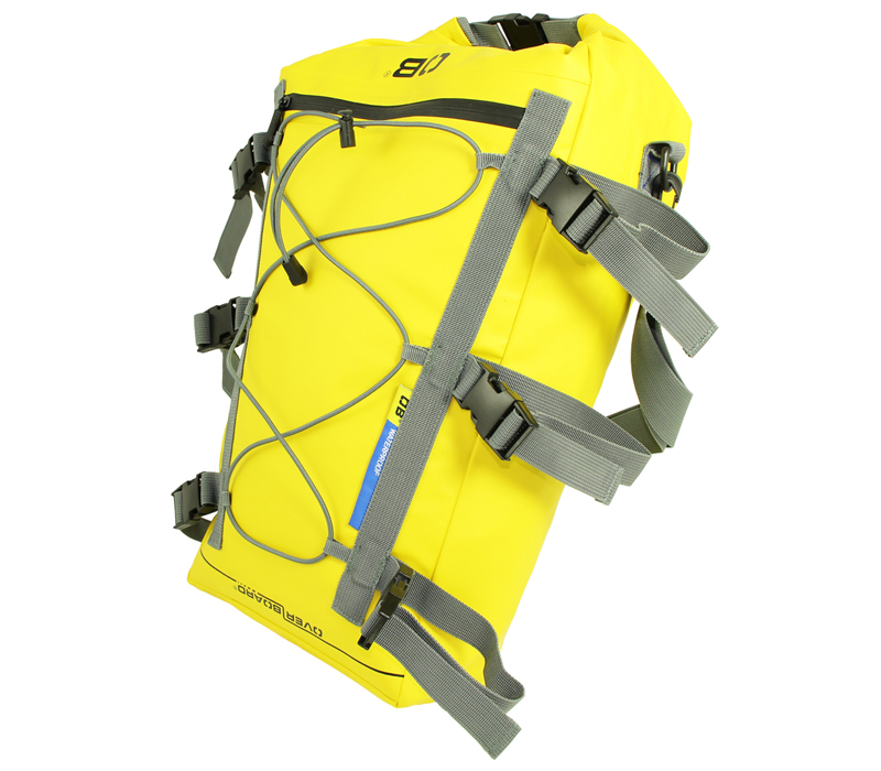 Водонепроницаемая сумка OverBoard OB1094Y - Waterproof Kayak Deck Bag - 20L (Yellow) Фото 2
