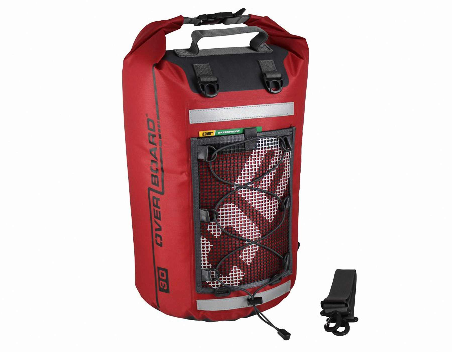 Водонепроницаемая сумка OverBoard OB1118R - Ultra-light Dry Tube Bag - 30L (Red) Фото 1