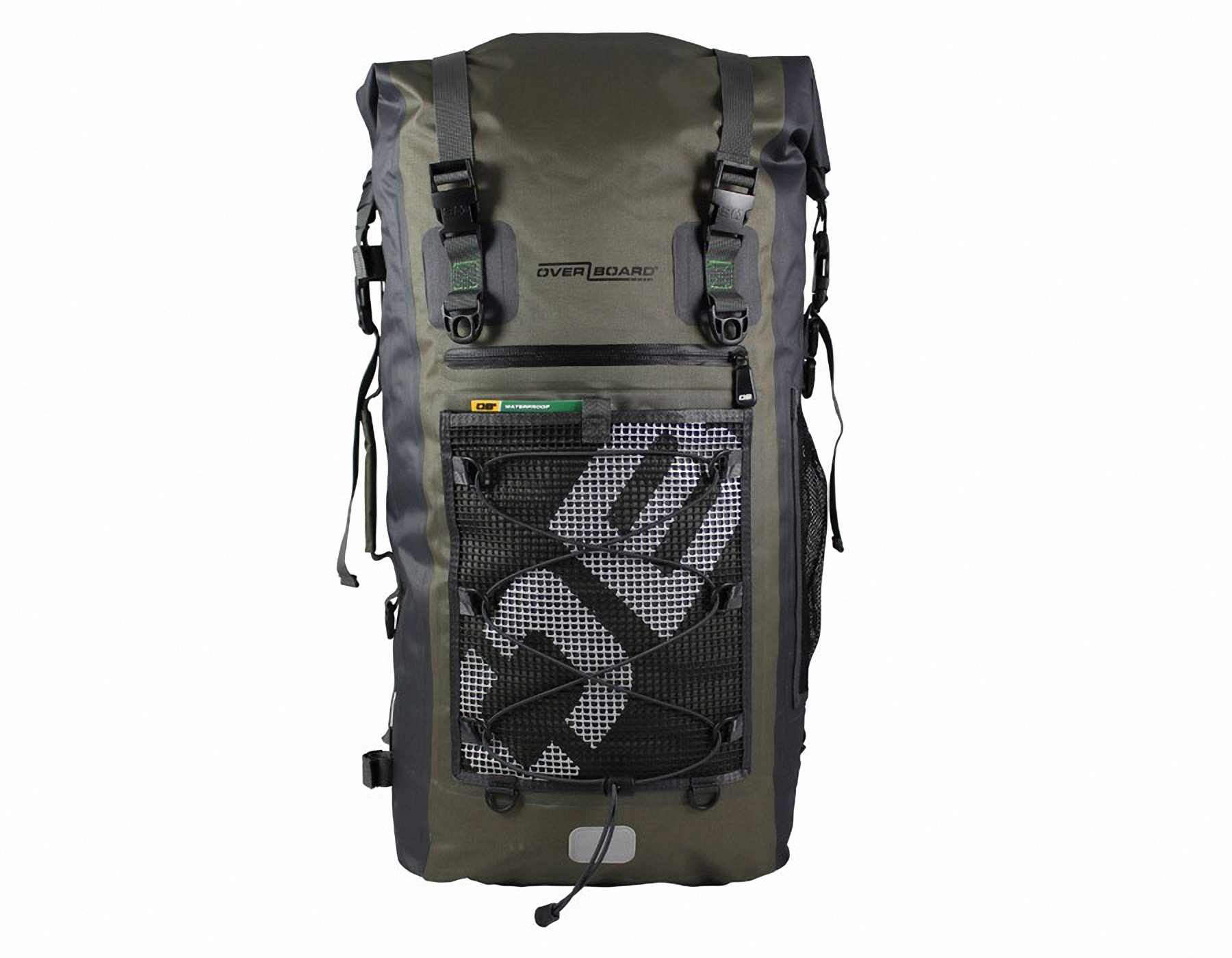 Водонепроницаемый рюкзак OverBoard OB1119G - Ultra-light Waterproof Backpack - 50L. Фото 3