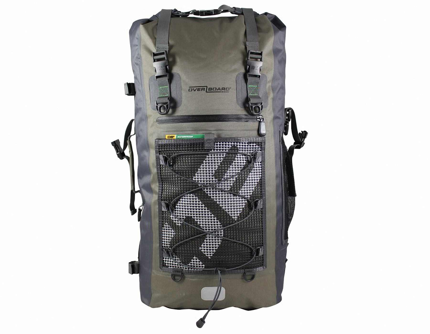 Водонепроницаемый рюкзак OverBoard OB1119G - Ultra-light Waterproof Backpack - 50L. Фото 4