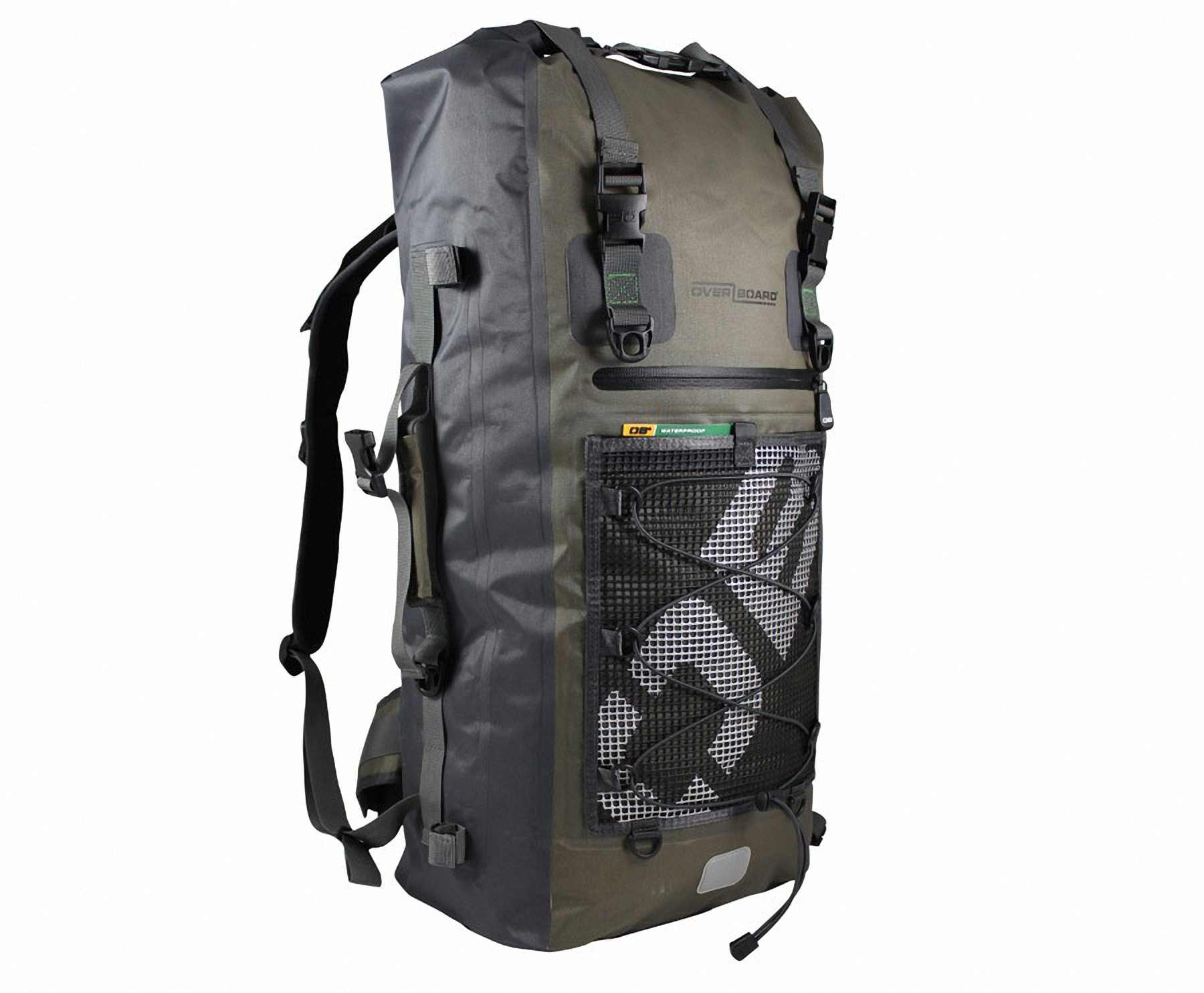 Водонепроницаемый рюкзак OverBoard OB1119G - Ultra-light Waterproof Backpack - 50L. Фото 5