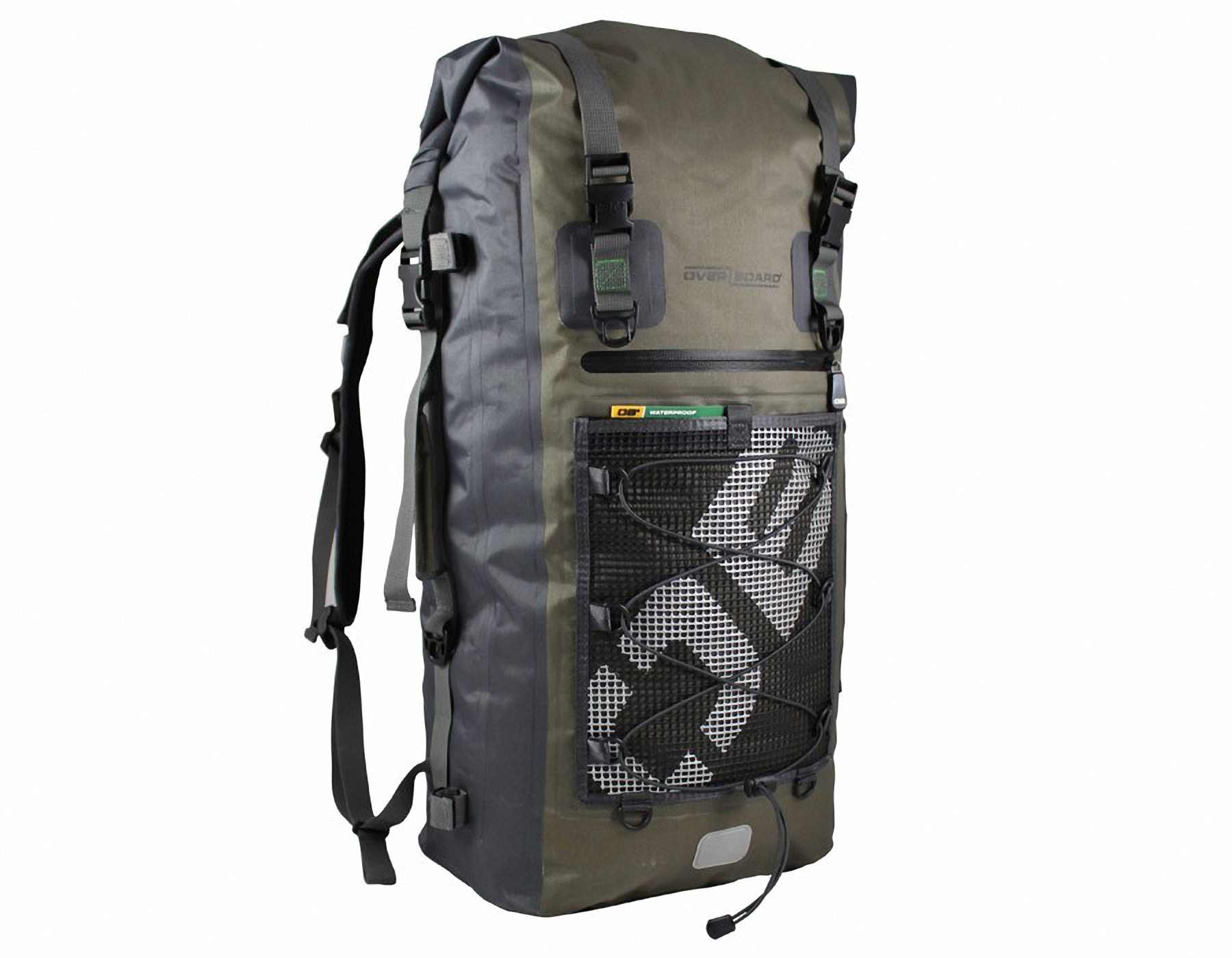 Водонепроницаемый рюкзак OverBoard OB1119G - Ultra-light Waterproof Backpack - 50L. Фото 6