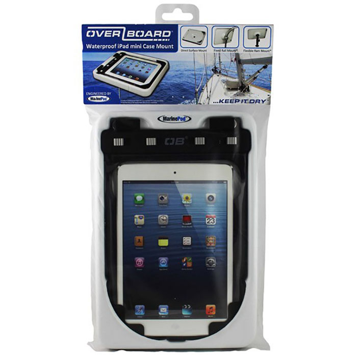 Платформа-держатель OverBoard OB1134WHT - Waterproof iPad mini Case Boat Mount (White) Фото 4