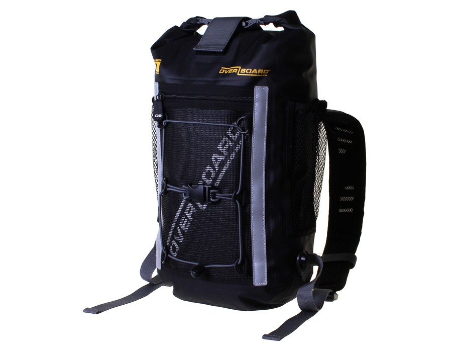 Водонепроницаемый рюкзак OverBoard OB1166BLK - Pro-Light Waterproof Backpack - 12 Litres (Black) Фото 2