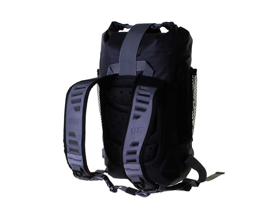 Водонепроницаемый рюкзак OverBoard OB1166BLK - Pro-Light Waterproof Backpack - 12 Litres (Black) Фото 5