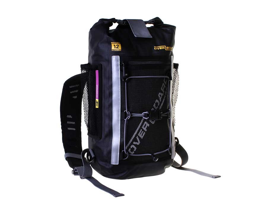 Водонепроницаемый рюкзак OverBoard OB1166BLK - Pro-Light Waterproof Backpack - 12 Litres (Black) Фото 7