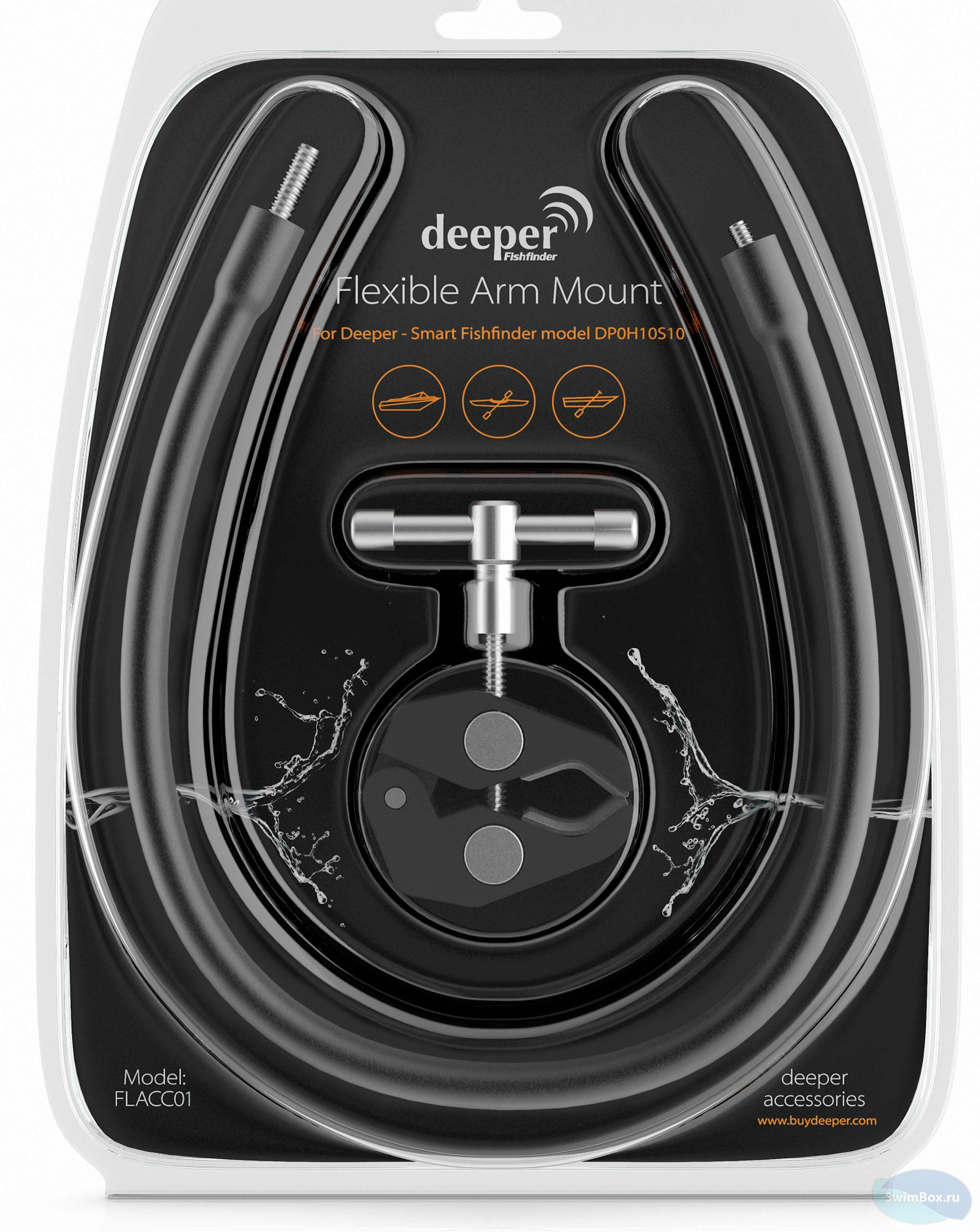 Эхолот Deeper Smart Fishfinder + Aquapac 350 Фото 7