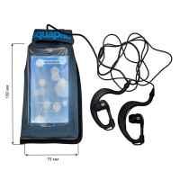 Водонепроницаемый чехол Aquapac 040 - Stormproof iPod Case (Cool Grey)