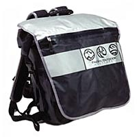 Водонепроницаемая сумка-рюкзак  Pacific Outdoor Equipment / Wxtex Velocio Black Chrome.