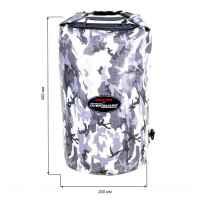 Водонепроницаемый гермомешок (с плечевым ремнем) OverBoard US1005-Camo - Waterproof Dry Tube Bag - 20L.