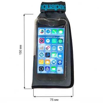 Водонепроницаемый чехол Aquapac 044 - Mini Stormproof Phone Case Grey.