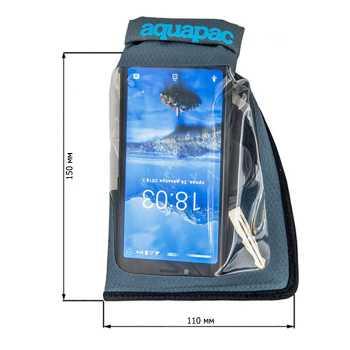 Водонепроницаемый чехол Aquapac 045 - Small Stormproof Phone Case Grey.