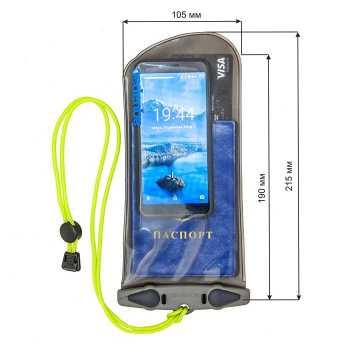 Водонепроницаемый чехол Aquapac 128 - Medium Electronics Case.