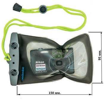 Водонепроницаемый чехол Aquapac 408 - Mini Camera Case.