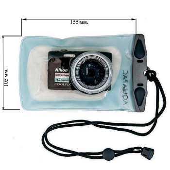 Водонепроницаемый чехол Aquapac 420 - Small Camera Case.