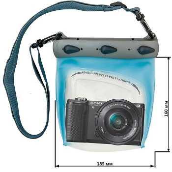 Водонепроницаемый чехол Aquapac 445 - Large Camera Case.