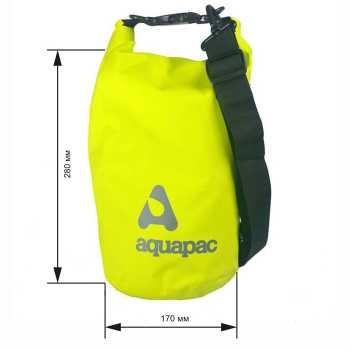 Водонепроницаемый мешок Aquapac 731 - TrailProof™ Drybag – 7L with shoulder strap.
