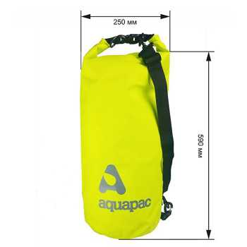 Водонепроницаемый мешок Aquapac 735 - TrailProof™ Drybag – 25L with shoulder strap.