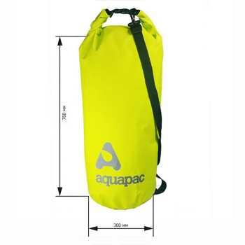 Водонепроницаемый гермомешок (с плечевым ремнем) Aquapac 737 - TrailProof™ Drybag – 70L with shoulder strap.