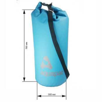 Водонепроницаемый гермомешок (с плечевым ремнем) Aquapac 738 - TrailProof™ Drybag – 70L with shoulder strap.