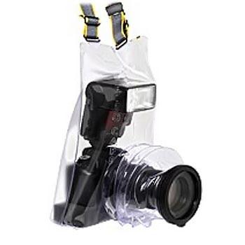 Универсальная прозрачная накидка Ewa-Marine C-AFX100, защита от дождя для зеркальной (SLR) фотокамеры и внешней вспышки.