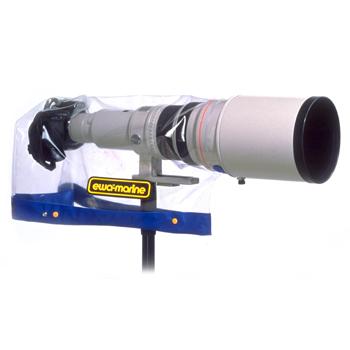 Универсальная прозрачная накидка для зеркальных (SLR) фотокамер с телескопическим объективом 300-500 мм.