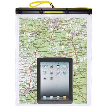 Водонепроницаемый, универсальный герметичный чехол Ewa-Marine Sportsafe DUS5 для документов, денег, топографических карт формат А3, iPad и других девайсов.