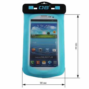 Водонепроницаемый чехол OverBoard OB1008A - Waterproof Phone Case (Aquamarine)