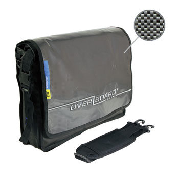 Водонепроницаемая сумка OverBoard OB1046C - Waterproof Carbon Messenger Bag.
