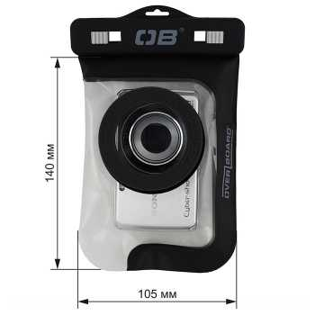 Водонепроницаемый чехол Over Board OB1103BLK -  Waterproof Zoom Lens Camera Case.
