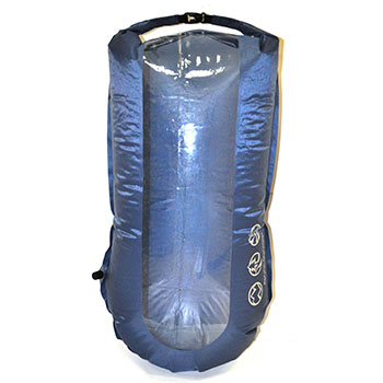 Водонепроницаемый гермомешок Pacific Outdoor Equipment / Wxtex Pneumo LTW Window New Ralf Blue - 50L.