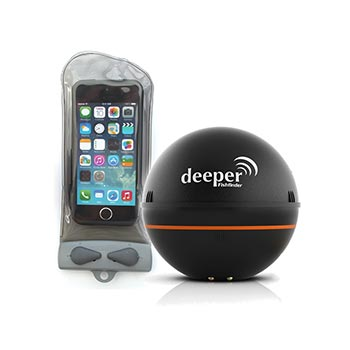 Эхолот Deeper Smart Fishfinder + Aquapac 110